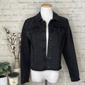 Maurices   Black Denim Jean Jacket